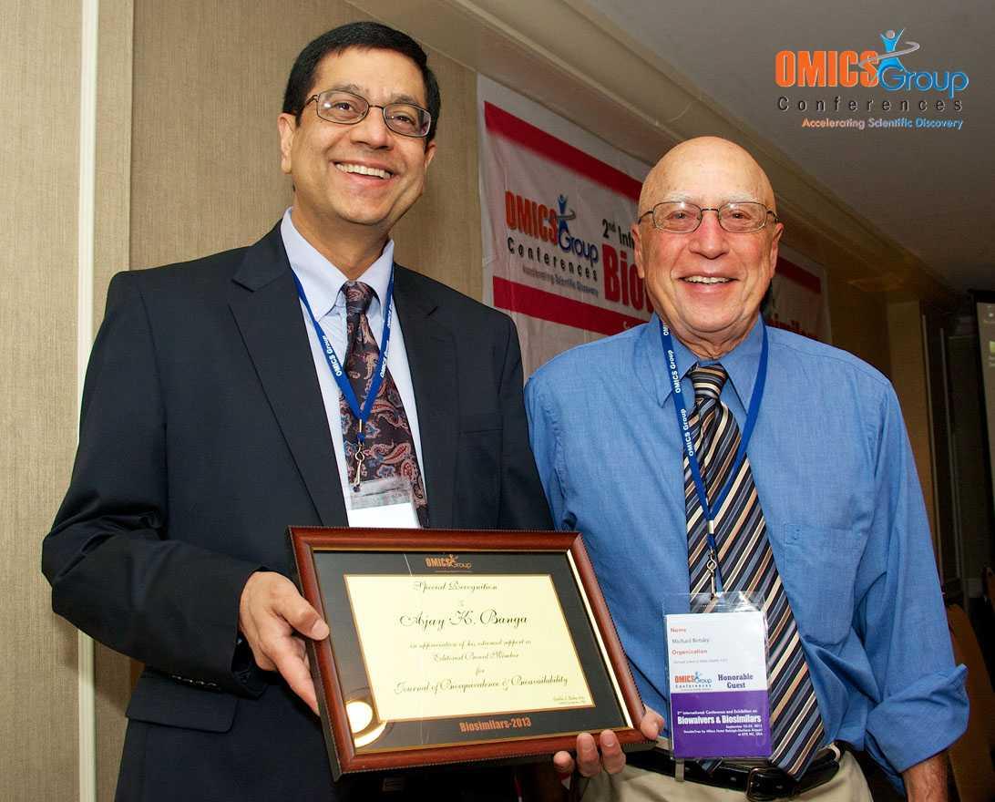 Ajay K. Banga | OMICS International