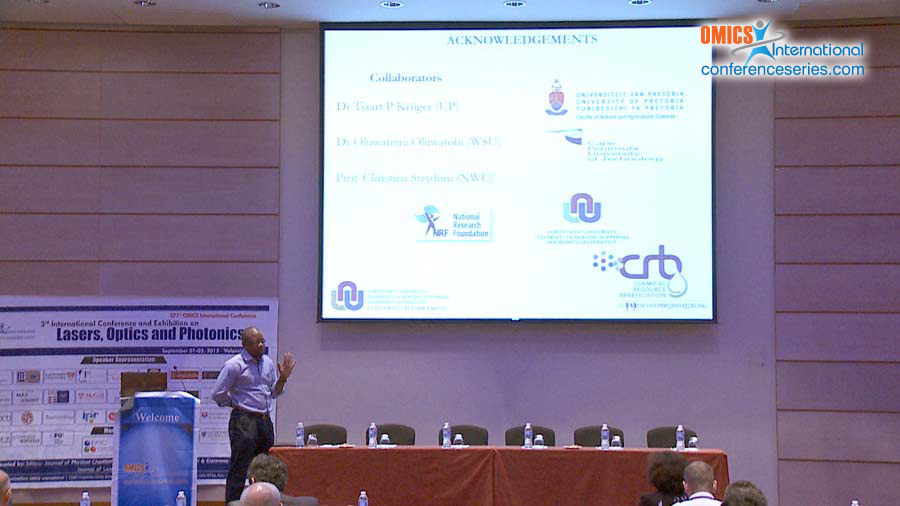 Damian C Onwudiwe | Conferenceseries