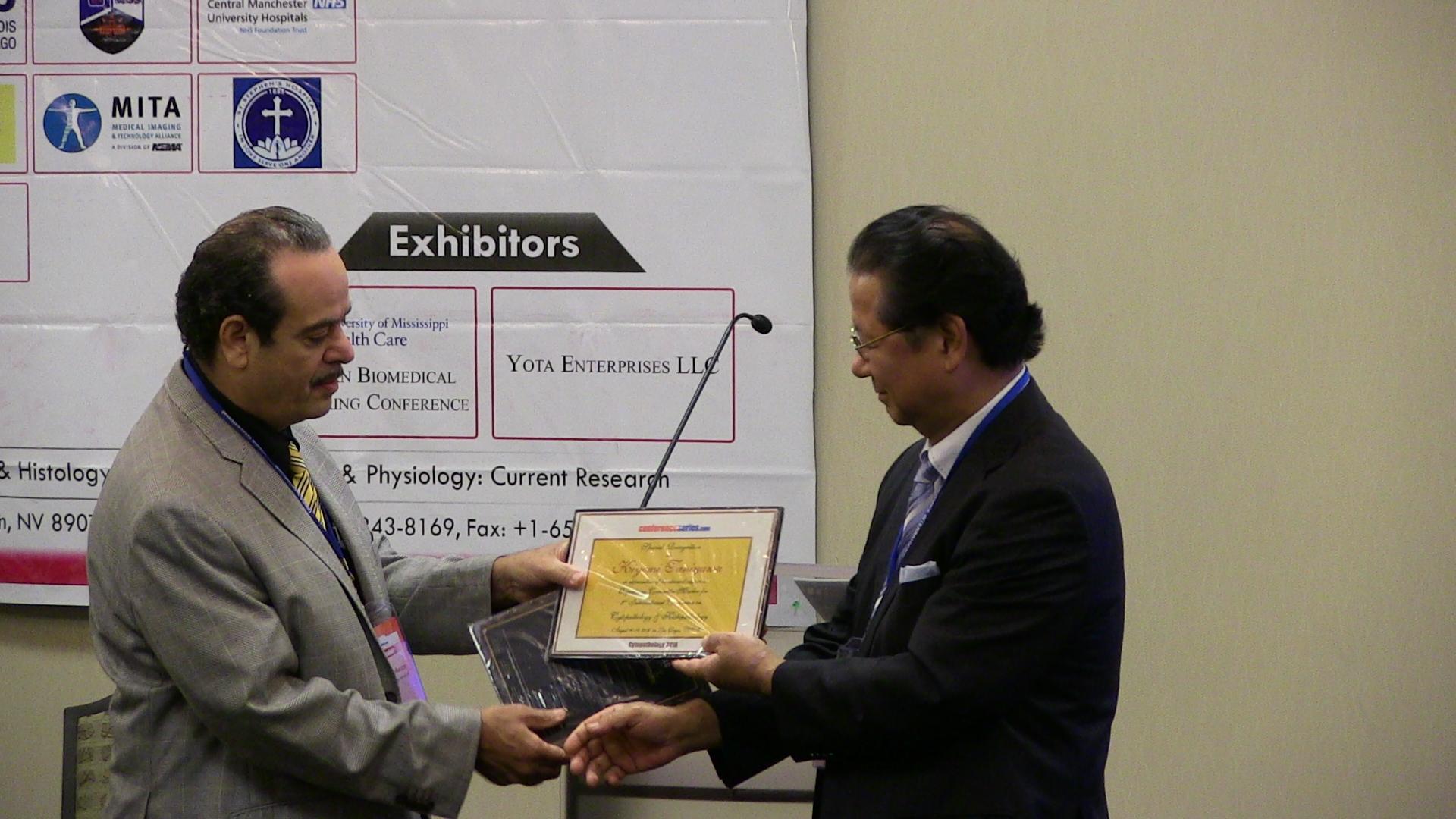 Kiyomi TANIYAMA   Conferenceseries Ltd