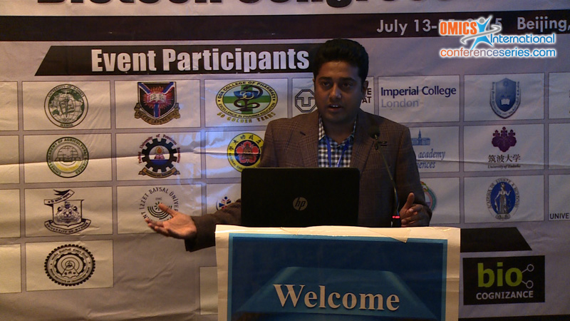 R.V. Madhusudhan | OMICS International