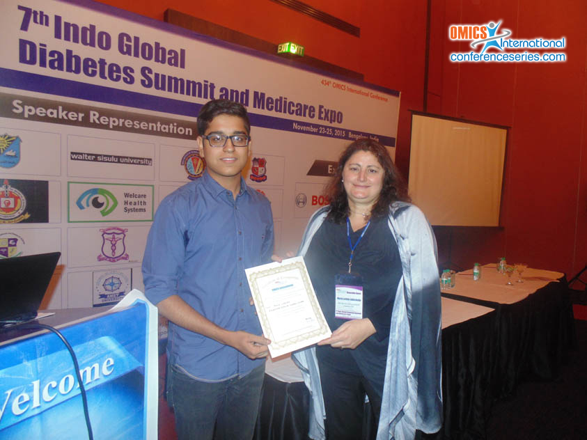 Rohin Vinayak | OMICS International