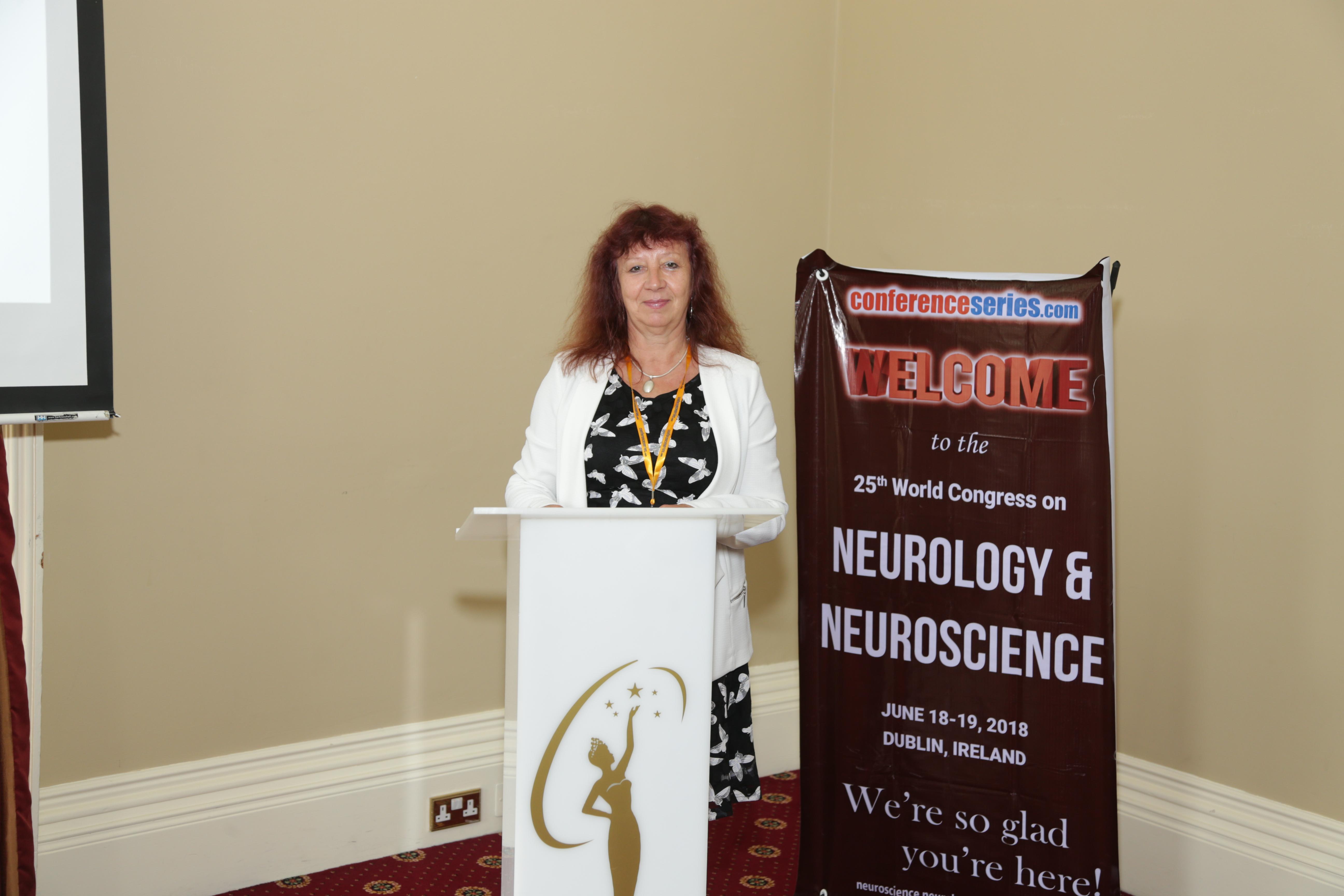 Neuroscience Congress 2019 International Conference Keynote Speaker Gabriele Saretzki photo