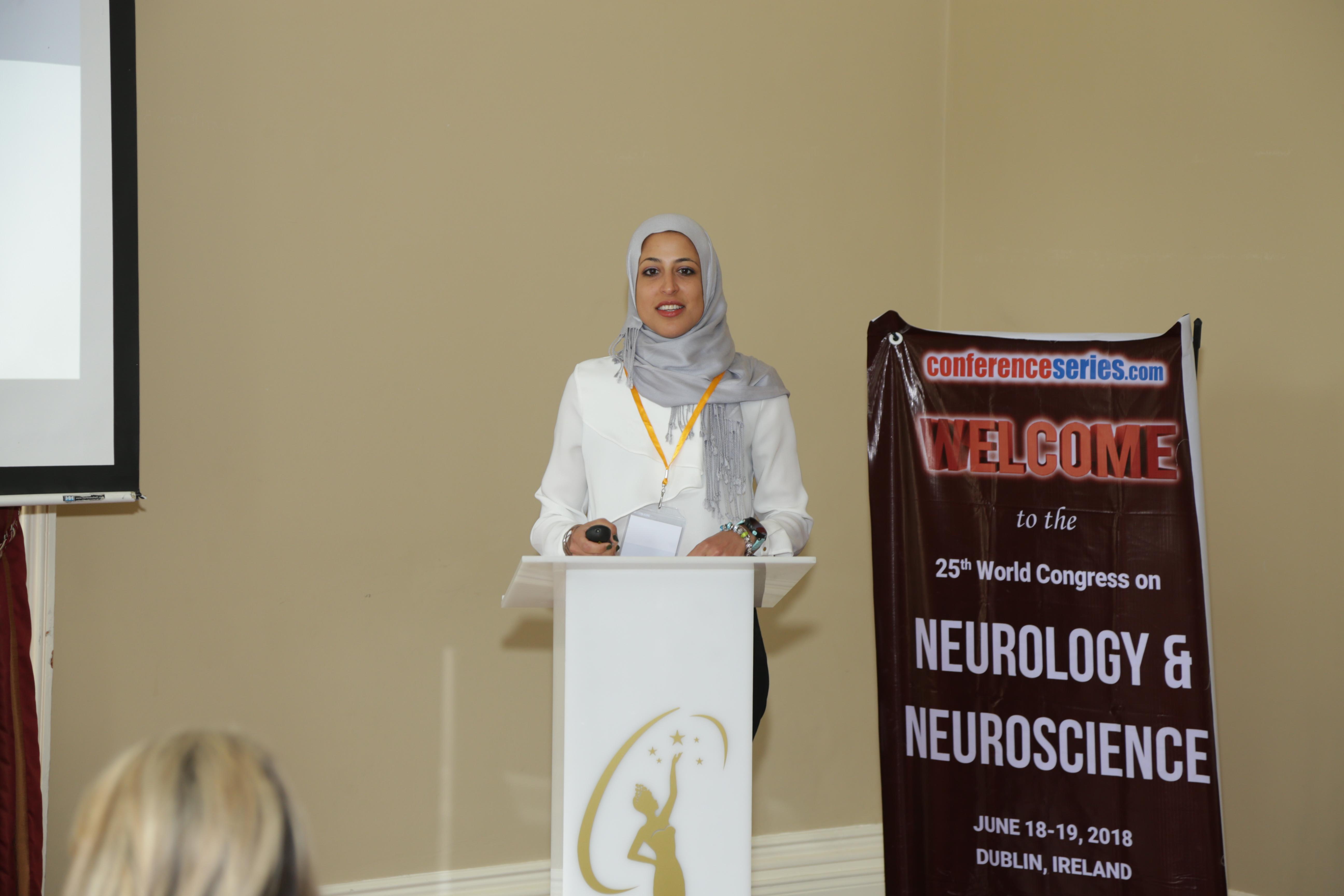 Neuroscience Congress 2019 International Conference Keynote Speaker Hebah Hefzy photo