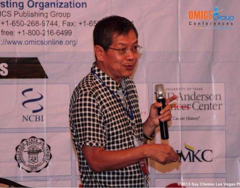 Metabolomics Summit 2019 International Conference Keynote Speaker Jeffrey Zheng photo
