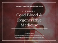 Cord Blood Stem Cells and Regenerative Medicine