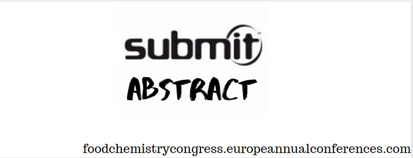 - Food Chemistry Congress 2020