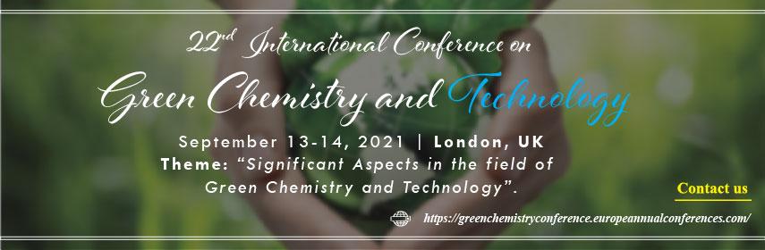 - Green Chemistry Congress 2021