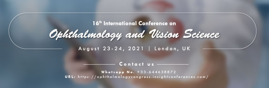 - Ophthalmology congress 2021