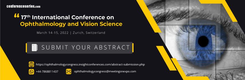 - Ophthalmology congress 2022