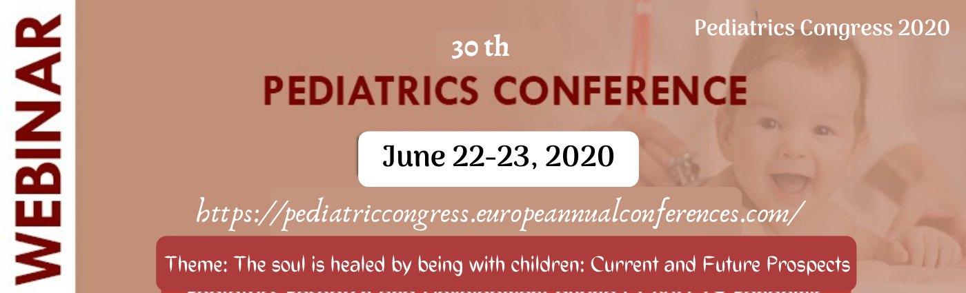 - Pediatrics Congress 2020