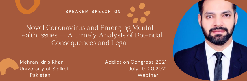 - Addiction Congress- 2021