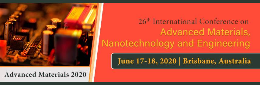 ADVANCED MATERIALS Conference 2020 - Advanced Materials 2020