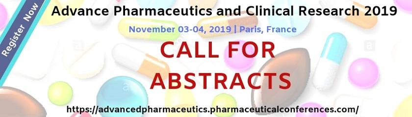 - Advanced Pharmaceutics 2019