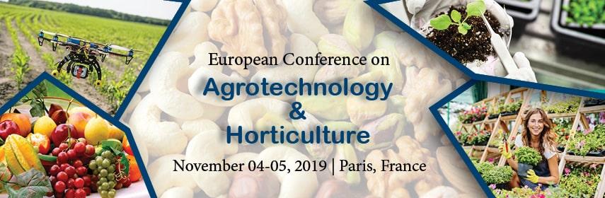 AGRI-HORTICULTURE 2019 - AGRI-HORTICULTURE 2019
