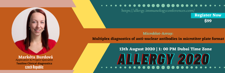 ALLERGY 2020 | 13th August 2020 | Webinar | Online Conference - Allergy 2020