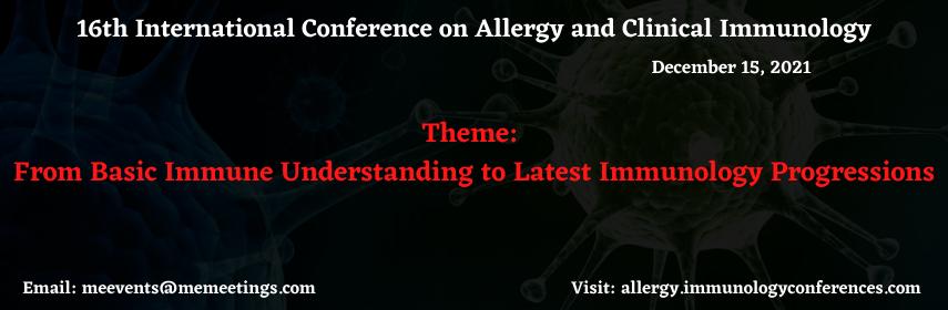 - Allergy 2021