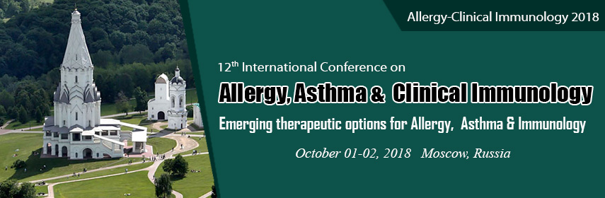 Allergy conferences - Allergy-Clinical Immunology 2018