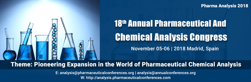 18th Annual Pharmaceutical And Chemical Analysis Congress, Madrid, Spain