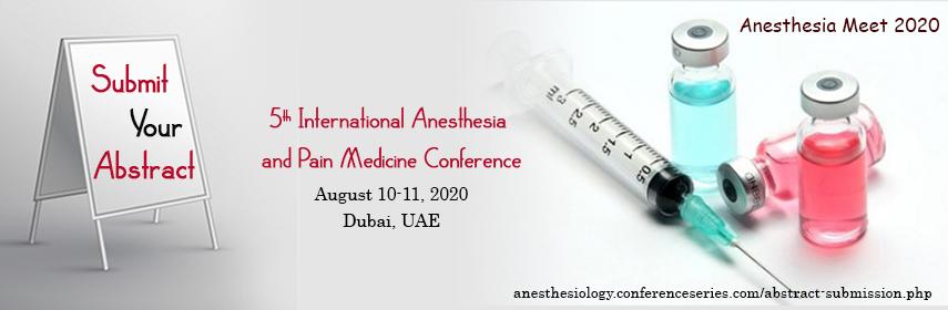 - Anesthesia Meet 2020