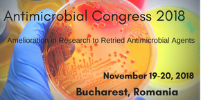 International Conference on Antimicrobial and Antibacterial Agents , Bucharest,Romania
