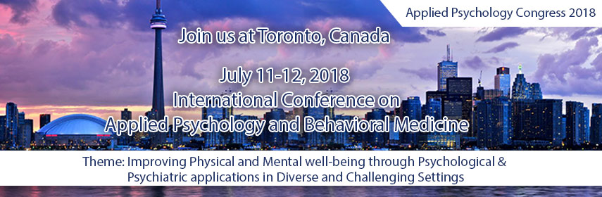 - Applied Psychology Congress 2018