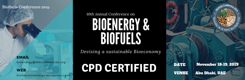 Biofuels Conference 2019, Conference Banner - Biofuels conference 2019