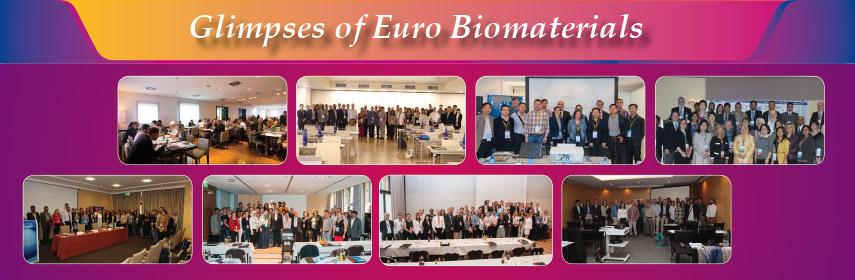 - Euro Biomaterials 2018