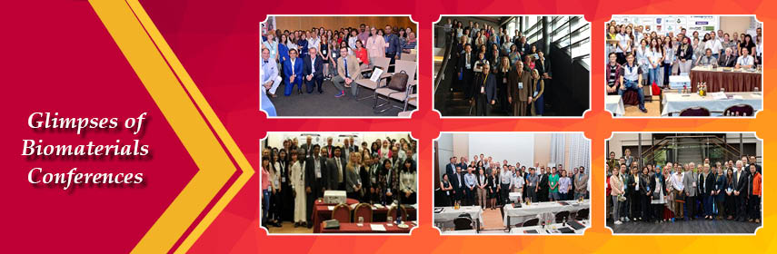 Glimpses of Biomaterials Conferences - Biomaterials 2019