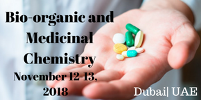 World Congress on Bioorganic and Medicinal Chemistry , Dubai,UAE
