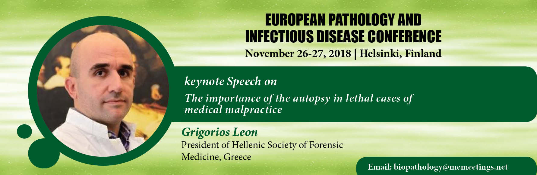 - Euro Pathology Meet 2018