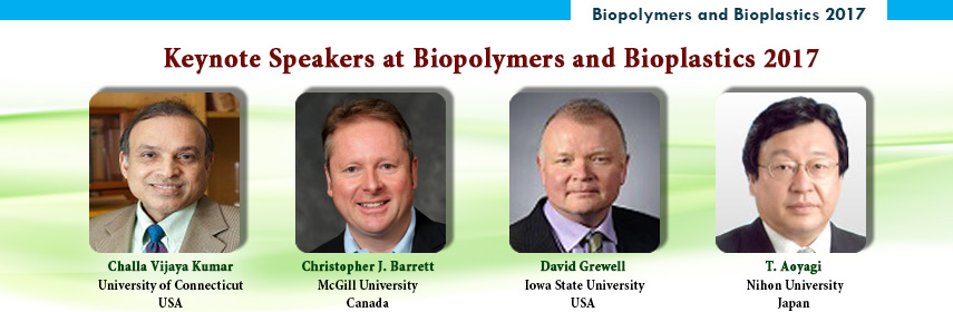 - Biopolymers and Bioplastics 2017