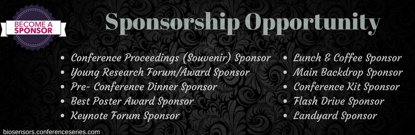 biosensors2018_sponsorship.opportunity - Biosensors 2018 ,USA