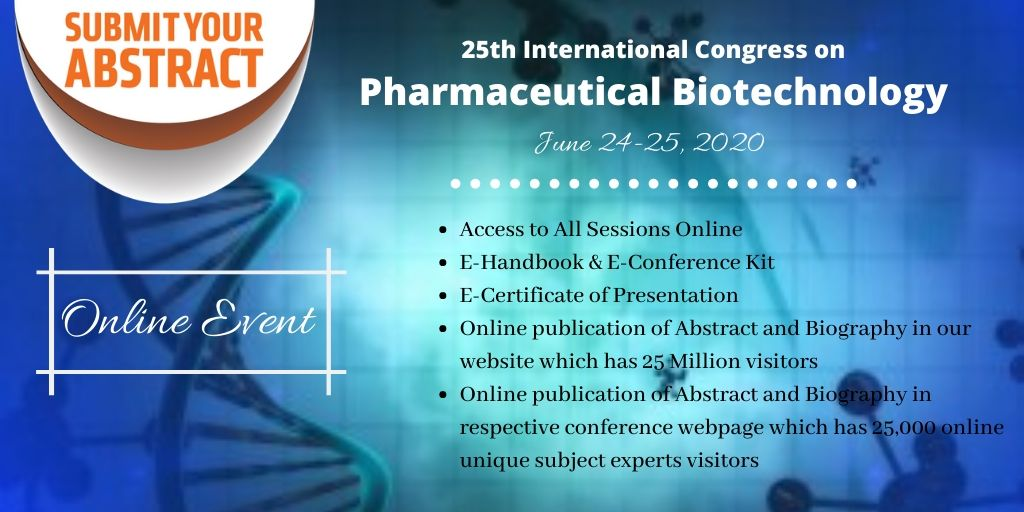 1 - Euro Pharmaceutical Biotechnology 2020