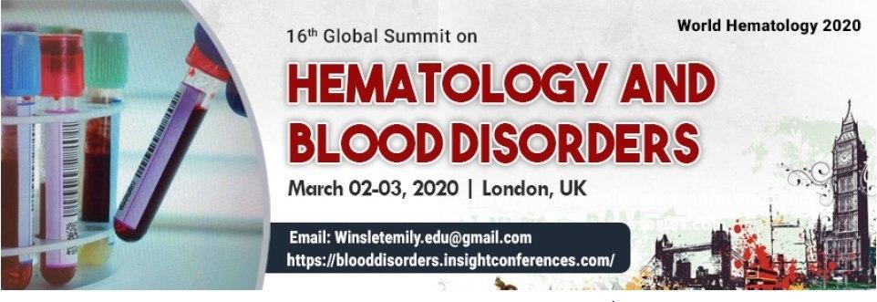 World Hematology 2020 | Hematology Conferences | Hematology Congress
