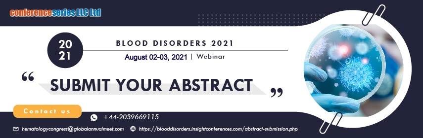 - Blood Disorders 2021