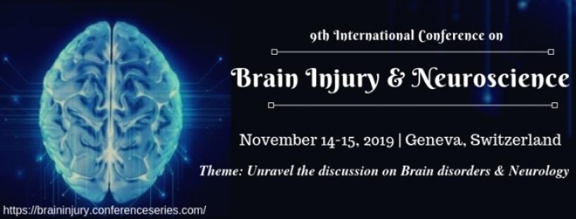 Brain Injury Conferences | Brain Injury 2019 | Top Brain