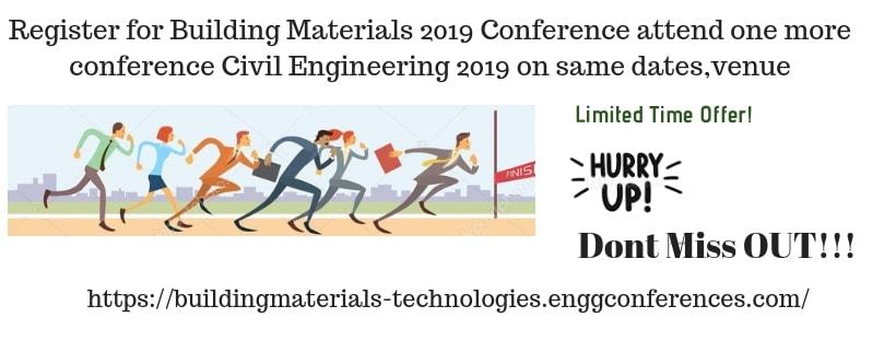 - Building Materials 2019