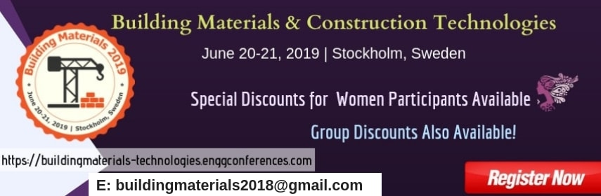 Civil Engineering | Building Materials | Conference