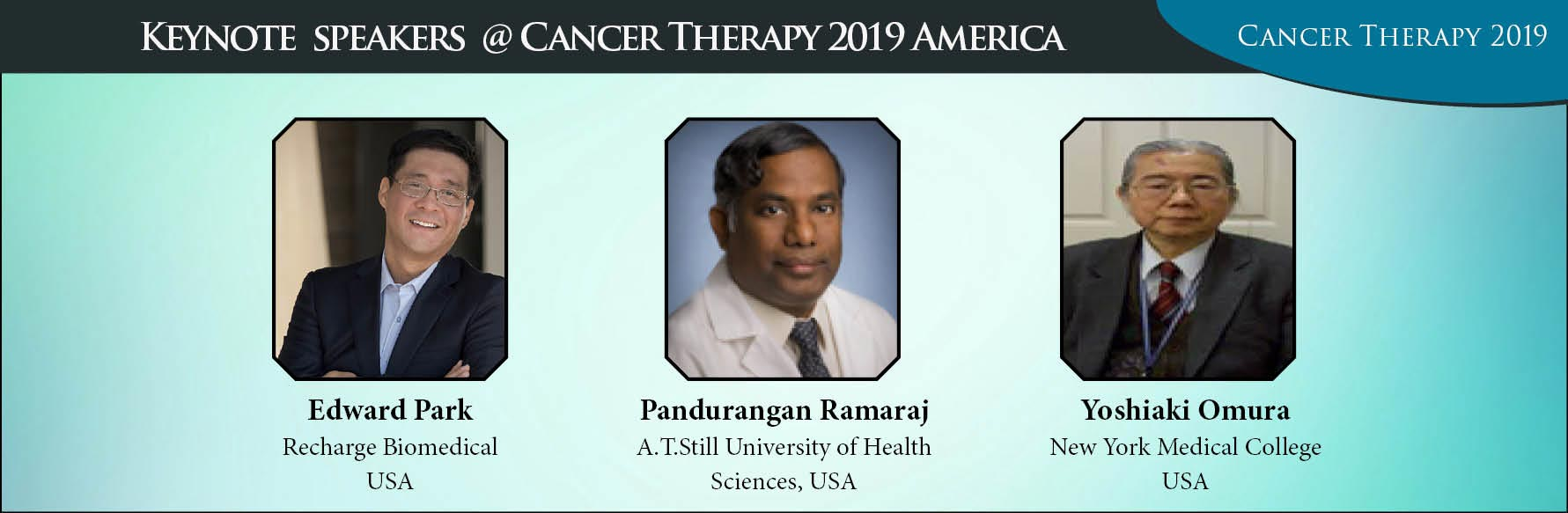 - Cancer Therapy 2019 America