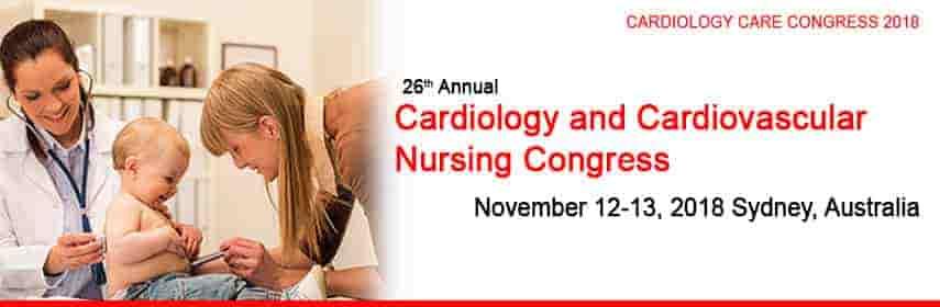 Cardiology Care Congress 2018   26th Annual Cardiology and Cardiovascular  Nursing Congress   Novemb - Cardiology Care Congress 2018