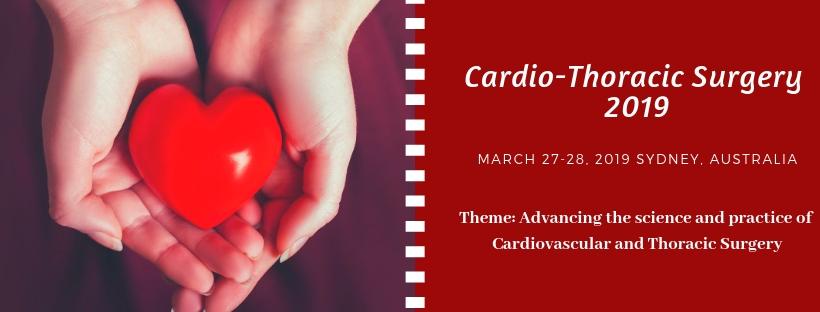 - Cardio-Thoracic Surgery 2019