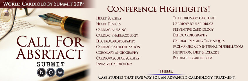 World Cardiology Summit 2019 - World Cardiology Summit 2019