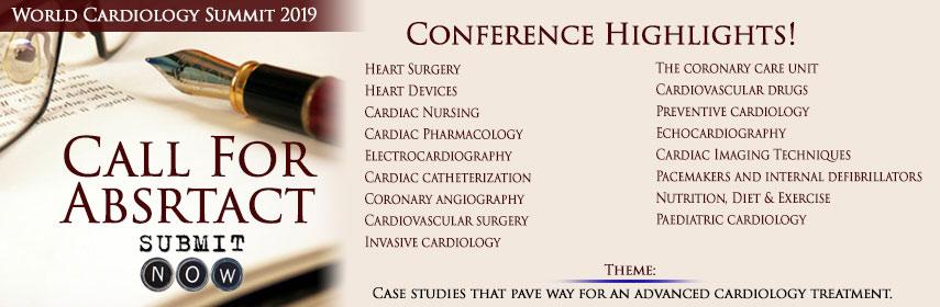 World Cardiology Summit 2019 - World Cardiology Summit 2019
