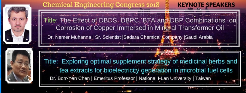 - Chemical Engineering Congress 2018