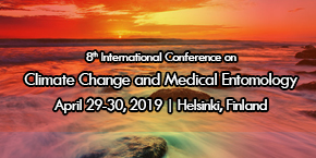 8th International Conference on Climate Change and Medical Entomology , Helsinki,Finland