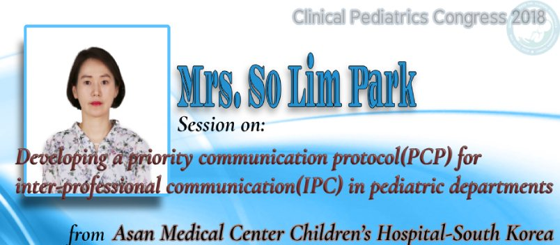 Abstract Submission for Clinical Pediatrics Congress 2018, Clinical Conferences Lisbon, Child Medica - Clinical Pediatrics Congress