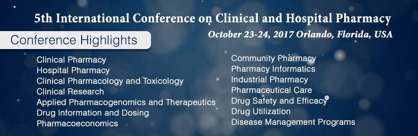 - Clinical Pharmacy 2017