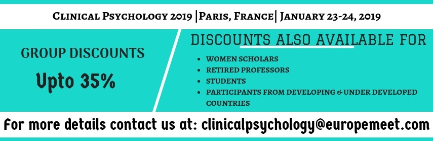 - Clinical Psychology 2019