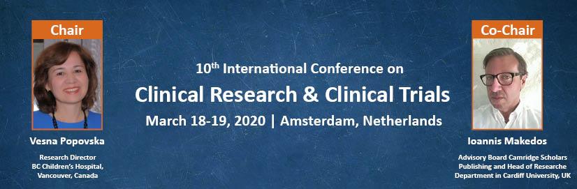 - Euro Clinical Trials 2020