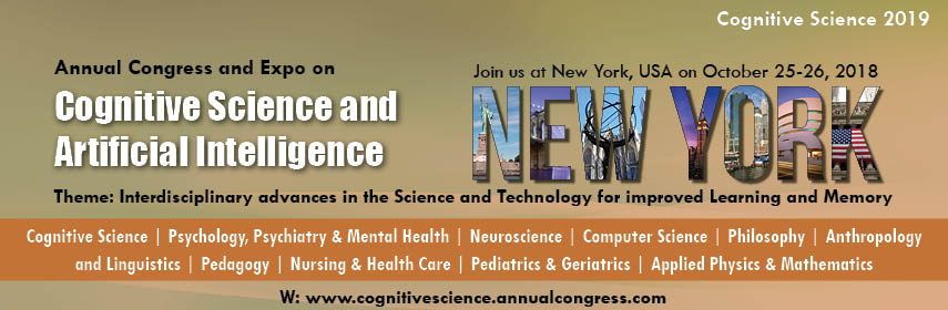 - Cognitive Science 2019